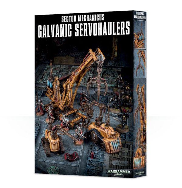 Escenografia Scenery Warhammer 40k Sector MEchanicus Galvanic Servohaulers