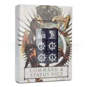 Command DIce Sigmar Dados de Mando Warhammer
