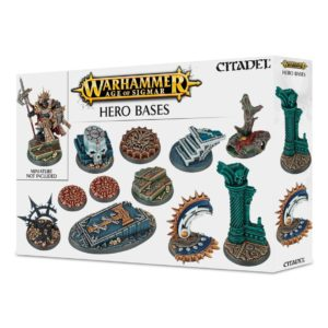 Peanas Bases Warhammer Sigmar Shattered Dominion Heroes