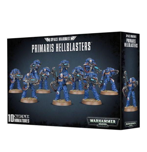 Primarines Space Marines Espaciales Warhammer 40k Primaris Hellblaster