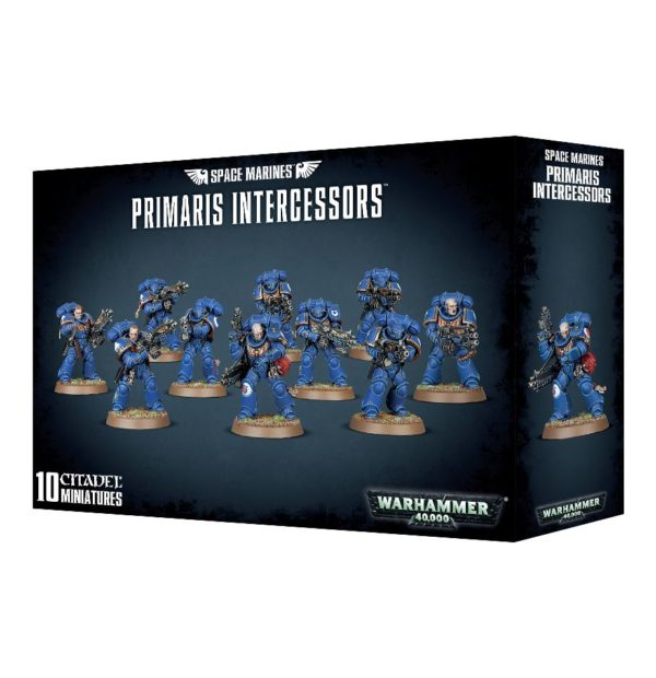 Primarines Space Marines Espaciales Warhammer 40k Primaris Intercessor
