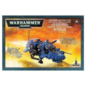 Exploradores Tormenta Space Marine Scouts Espaciales Warhammer 40k Land Speeder Storm
