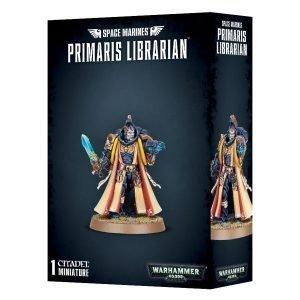 Bibliotecario Primarines Space Marines Espaciales Warhammer 40k Primaris Librarian