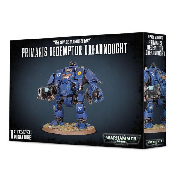 Primarines Space Marines Espaciales Warhammer 40k Primaris Redemptor Dreadnought