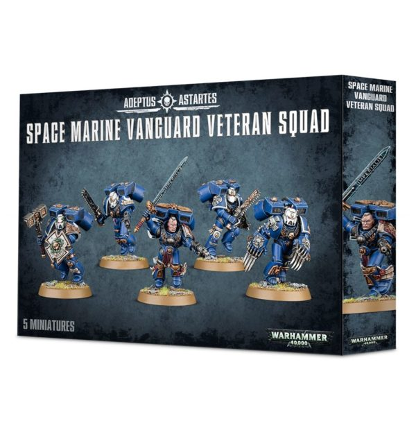Veteranos Vanguardia Space Marines Espaciales Warhammer 40k Vanguard Veterans