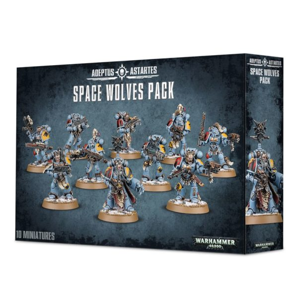 Manada Garras Sangrientas Cazadores Grises Guardia Lobos Espaciales Space Wolves Pack Warhammer 40k Wolf Guard Blood Claws Grey Hunters
