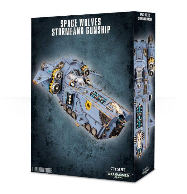Lobos Espaciales Space Wolves Warhammer 40k Stormfang Stormwolf