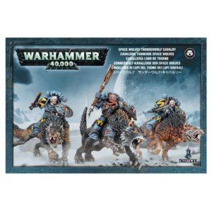 Lobostrueno Lobos Espaciales Space Wolves Warhammer 40k Thunderwolf
