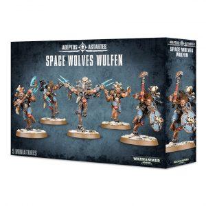 Lobos Espaciales Space Wolves Warhammer 40k Wulfen