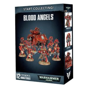 Angeles Sangrientos Space Marines Espaciales Warhammer 40k Start Collecting Blood Angels