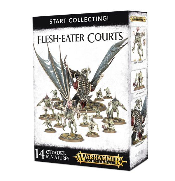 Necrofagos Ghoul No Muertos Warhammer Sigmar Start Collecting Flesh eater courts