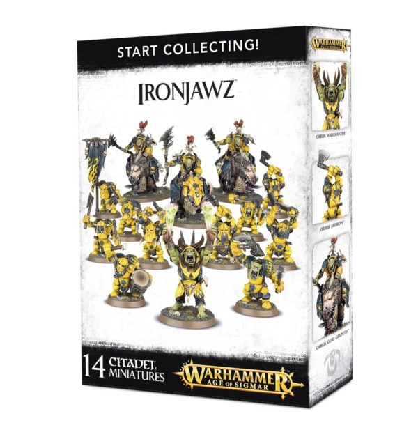 Orkos Orks Orruks Warhammer Sigmar Start Collecting Ironjawz