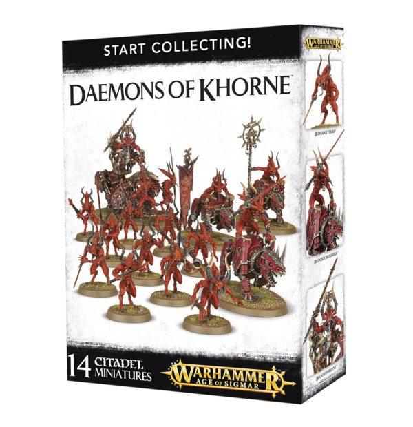 Warhammer 40k Sigmar Caos Start Collecting Khorne