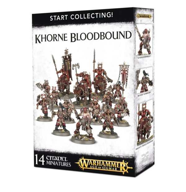 Barbaros Caos Warhammer Sigmar Start Collecting Khorne Bloodbound