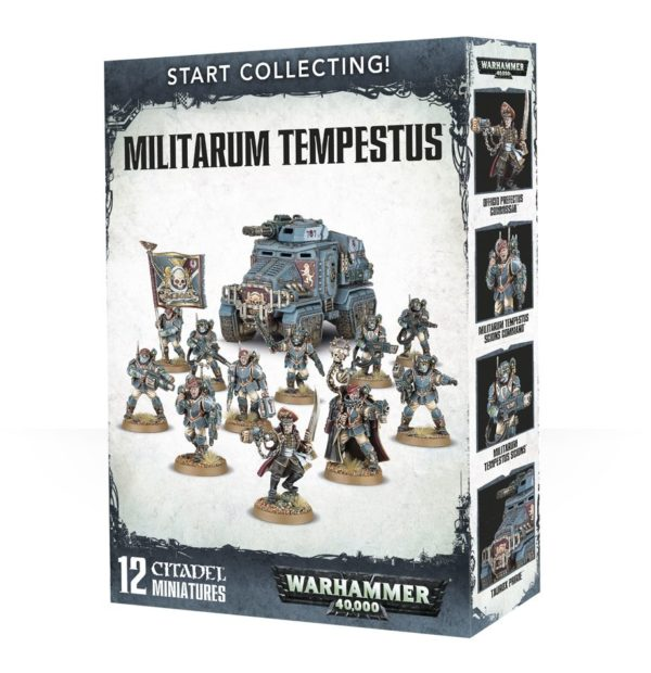 Guardia Imperial Astra Militarum Scions Warhammer 40k Start Collecting Tempestus
