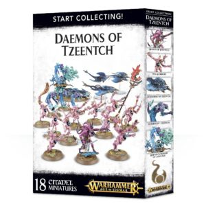 Warhammer 40k Sigmar Start Collecting Tzeentch