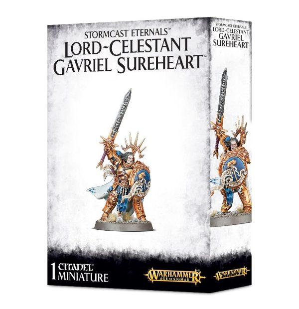 Sigmarine Stormcast Warhammer Sigmar Orden Celestant Gavriel Sureheart