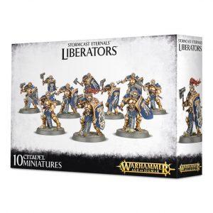 Sigmarine Stormcast Liberators Warhammer Sigmar Orden