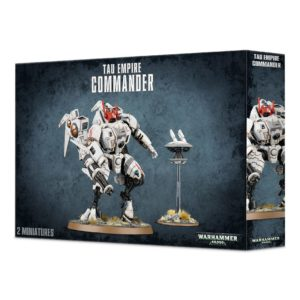 Comandante Armadura Coldstar Enforcer Imperio Tau Commander Empire Warhammer 40k