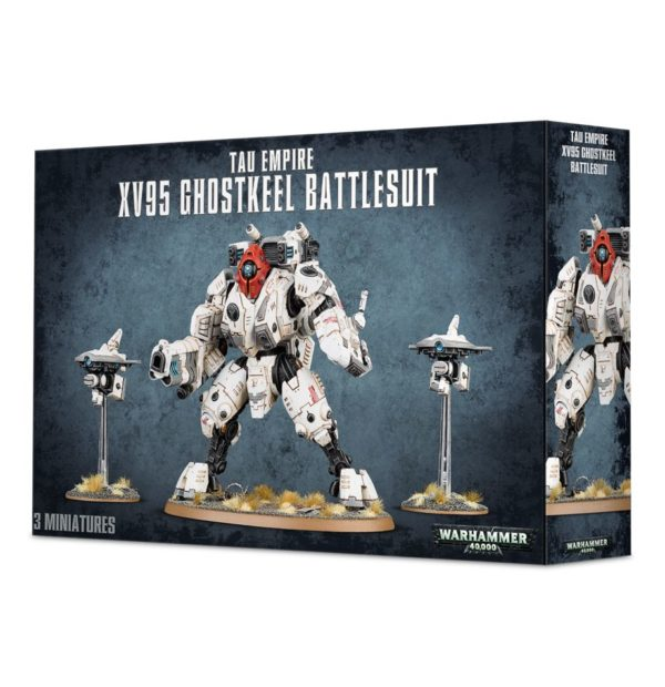 Armadura Battlesuit Imperio Tau Empire Warhammer 40k Ghostkeel