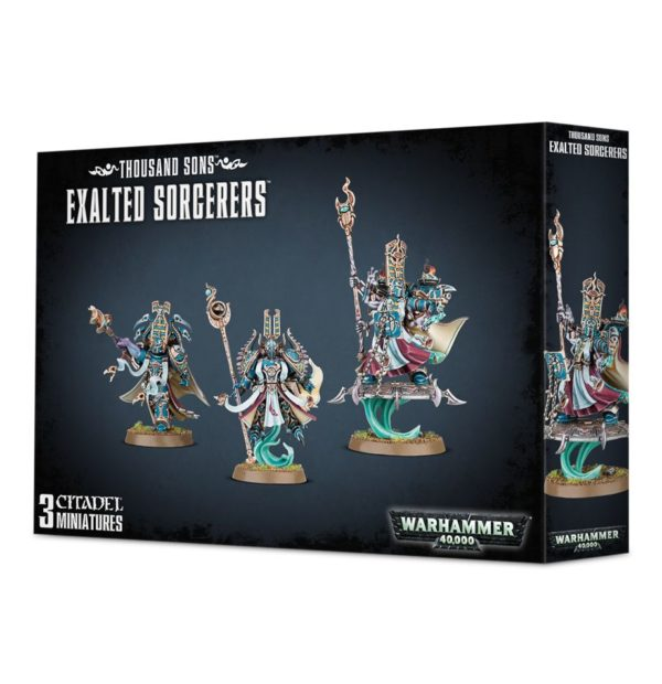Mil Hijos Thousand Sons Tzeentch Chaos Space Marines Espaciales Hechicero Caos Warhammer 40k Exalted Sorcerers