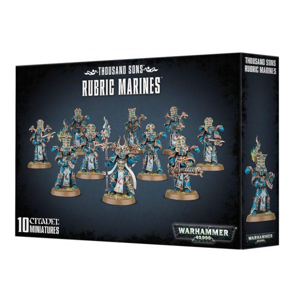 Rubricos Mil Hijos Thousand Sons Tzeentch Chaos Space Rubric Marines Rubrica Espaciales Caos Warhammer 40k