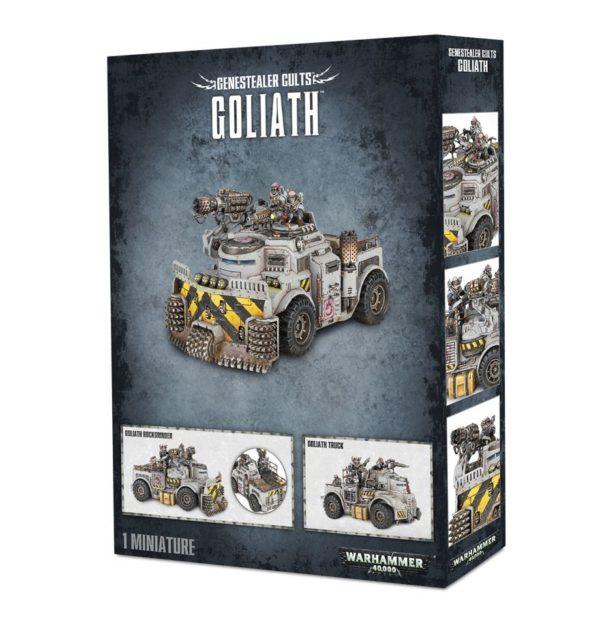 Rockgrinder Gambas Tiranidos Tyranids Culto Genestealer Cult Warhammer 40k Goliath Truck