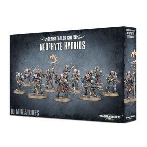 Neofitos Gambas Tiranidos Tyranids Culto Genestealer Cult Warhammer 40k Neophyte Hybrids