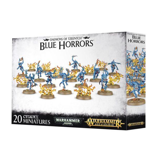 Horrores Azules Tzeentch Warhammer 40k Sigmar Caos Blue Horrors Brimstone