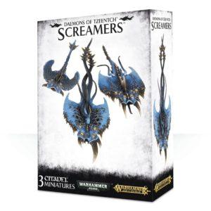 Aulladores Tzeentch Warhammer 40k Sigmar Caos Screamers