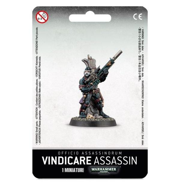 Asesino Warhammer 40k Vindicare