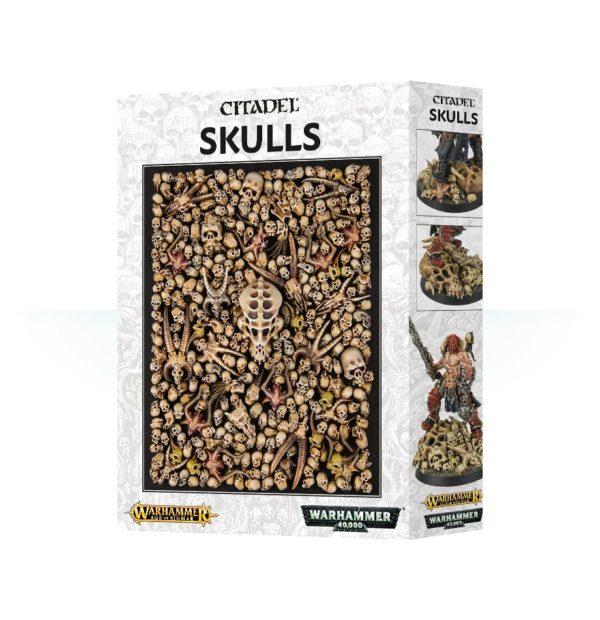 Peanas Bases Craneos Calaveras Warhammer 40k Sigmar Skulls