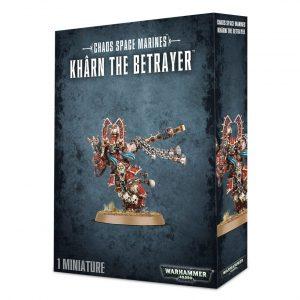 Traidor Khornetos Khonejos Devoradores Mundos World Eaters Chaos Space Marines Espaciales Khorne Caos Warhammer 40k Kharn